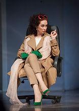 Анна Большова. Фотография спектакля«...Всё оплачено»