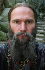 """Егор Баринов. Фильм """"Молодой волкодав"""", 2007 год"""