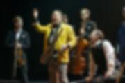 Спектакль «Онегин-блюз». Фото: Елизаветы Бузовой