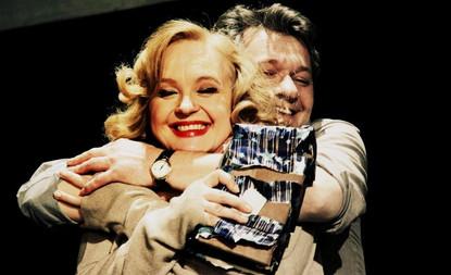 Елена Сотникова и Андрей Ильин. Спектакль «Игры одиноких»