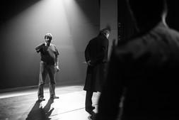 Репетиция спектакля «Онегин-блюз»