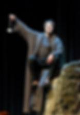 Григорий Антипенко. Фотография спектакля«Сирано де Бержерак»