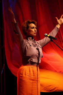 Ольга Тумайкина. Фотография спектакля«Валенок»