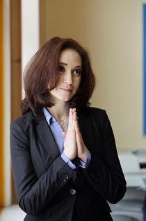 """Анна Большова. Сериал """"Ангел или демон"""", 2013 год"""