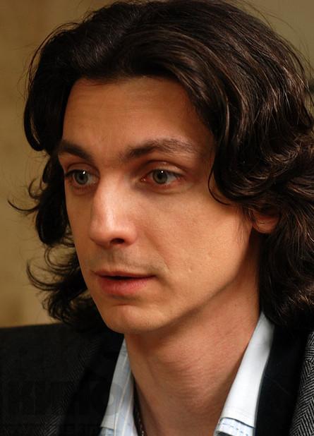Илья Бледный. Фотография со съёмок