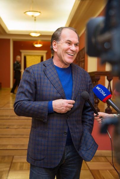 Алексей Гуськов. Фотография с интервью. Фото Светланы Колосковой