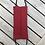 Thumbnail: Ternet rødt mundbind og ensfarvet rødt på den anden side.