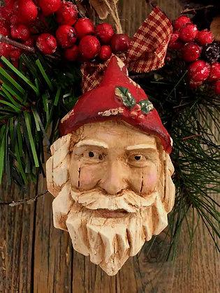 "Northwoods Santa - 2.5"" x 4.5"""