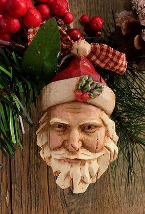 "Woodland Santa - 2.5"" x 4.5"""