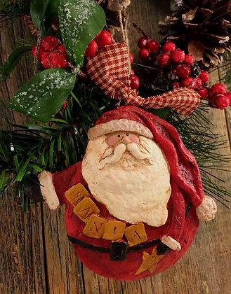 """Santa - 4.5"""" x 4.5"""""""