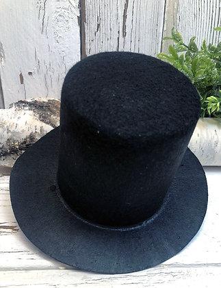Black Snowman Top Hat