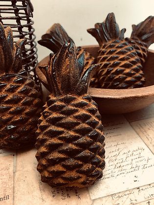 Five Welcome Pineapples - Tarts/Melts Blackened Beeswax