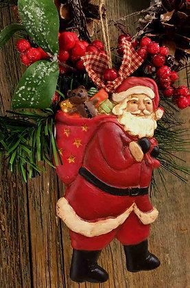 """Santa Claus - 3.5"""" x 6"""""""