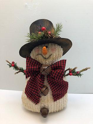Prim Snowman with Hat
