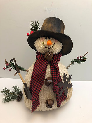 Large Snowman with Hat