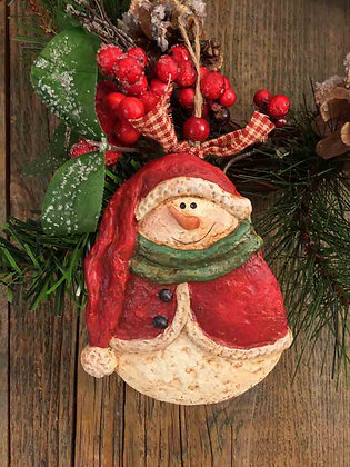 """Snowman with Stocking Hat - 3.5"""" x 5"""""""