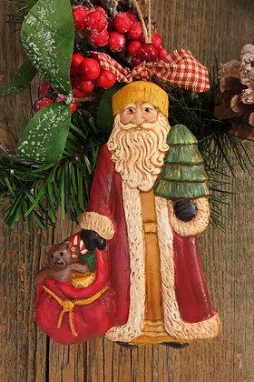 "Santa with Sack - 4.5"" x 6"""