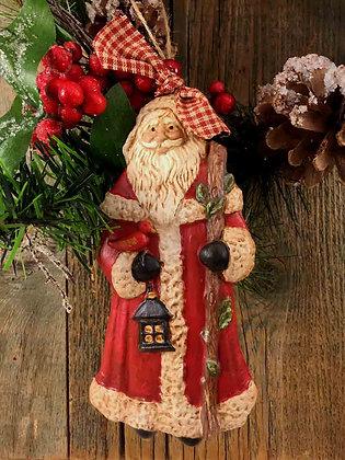 "Santa with Staff - 4.5"" x 6"""