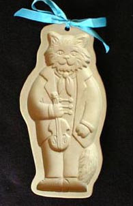 1990 Cat with Fiddle