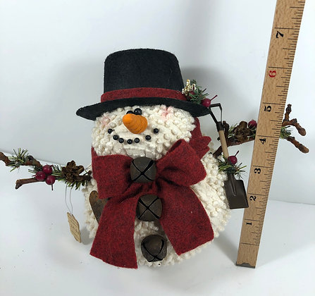 Medium Chenille Snowman