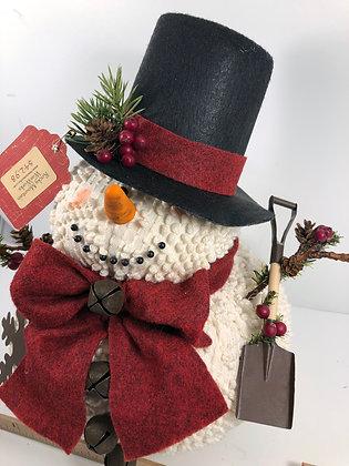 X Large Chenille Snowman