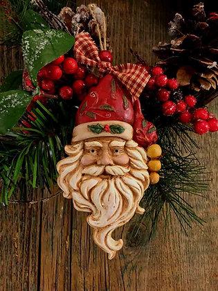 """Vintage Santa - 3"""" x 3.5"""""""