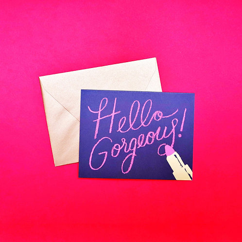 Rifle Paper Co. Hello Gorgeous! Card