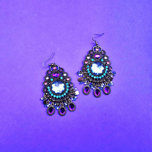 The Lost Princess Indian Earrings