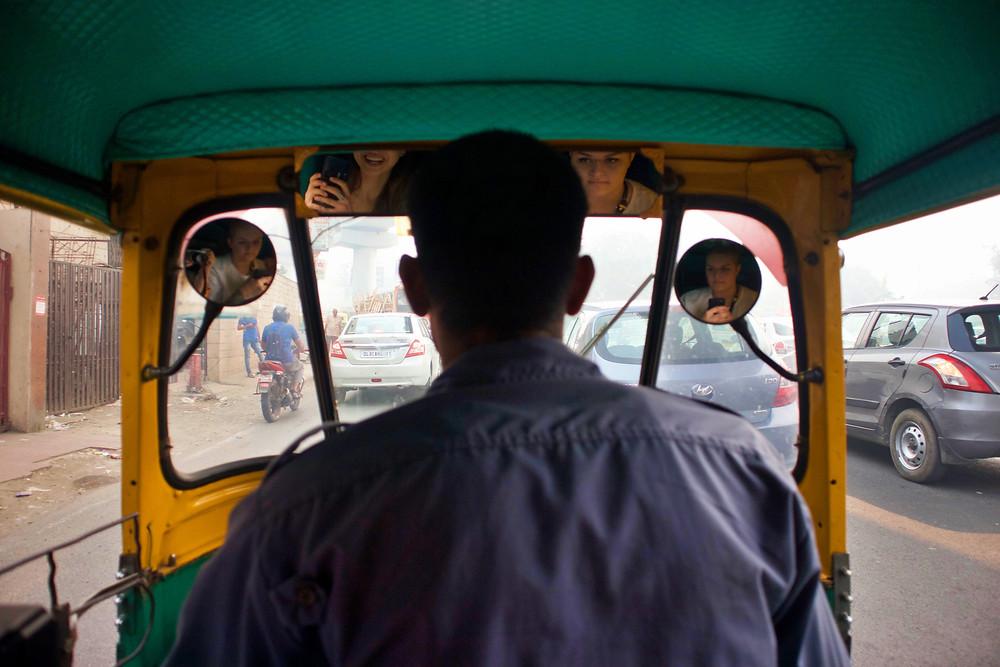 Tuk Tuk in New Delhi, India