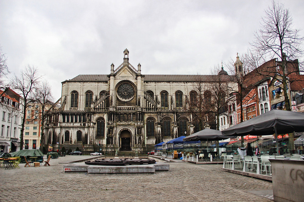 Saint Catherine Church, Brussels, Belgium