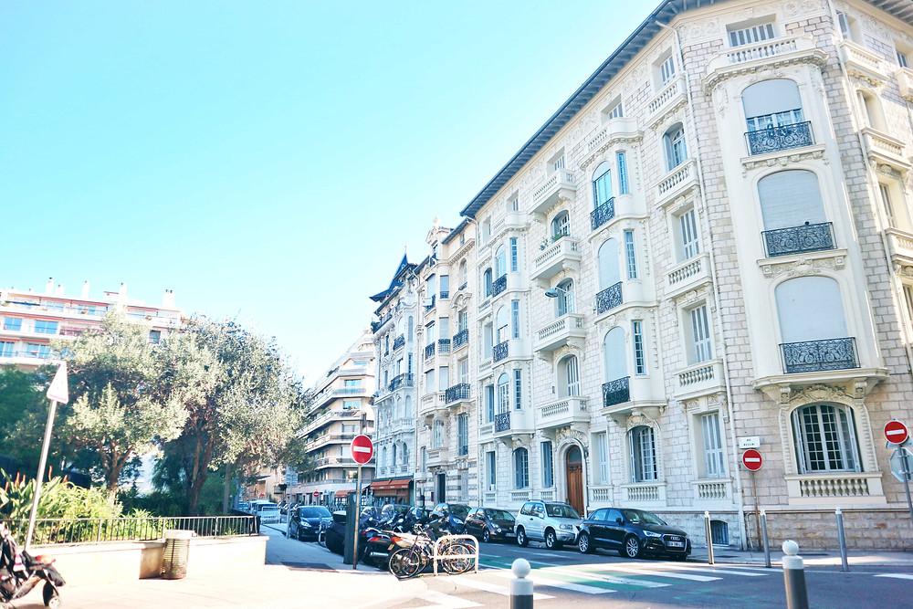 Street shot in Nice, France