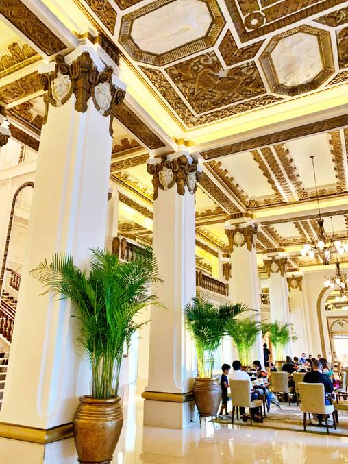 Lobby at Peninsula Hotel Hong Kong
