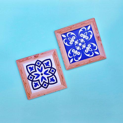 Portuguese Ceramic Tile Coaster