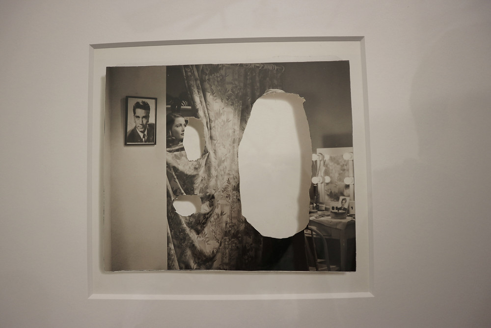 John Stezaker, Tears (Painting, after Joan Miro) I, 2006, Collage, 19 x 21 cm   7 1/2 x 8 1/4 in.