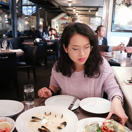Seafood Lover in Oslo, Norway