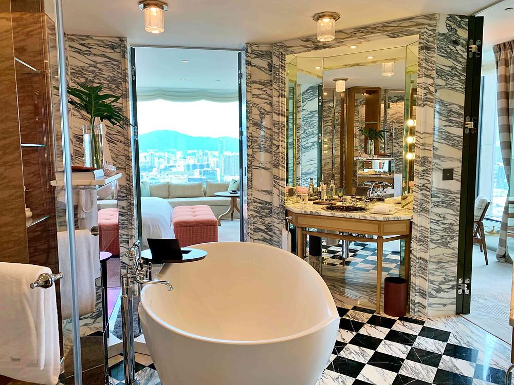 Bathroom at Rosewood Hong Kong