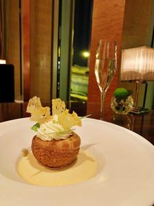 Dessert at Four Seasons Hotel Hong Kong