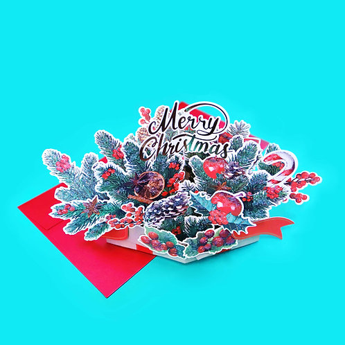 Christmas Box Popup Card
