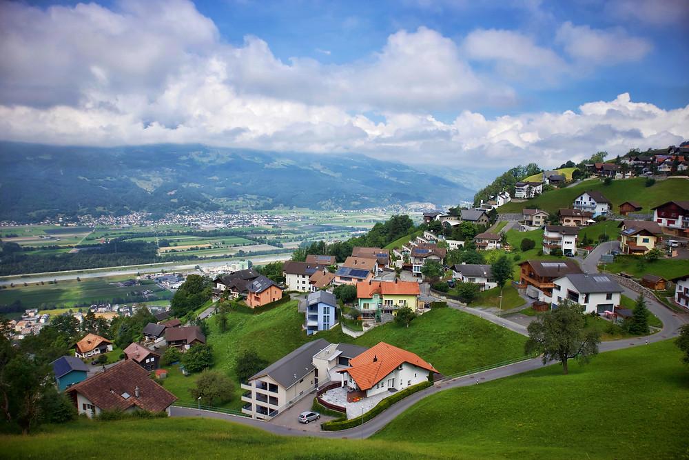Triesenberg village, Liechtenstein