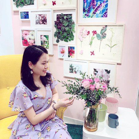 How to Style your Instagram Picture with Gift Flowers HK