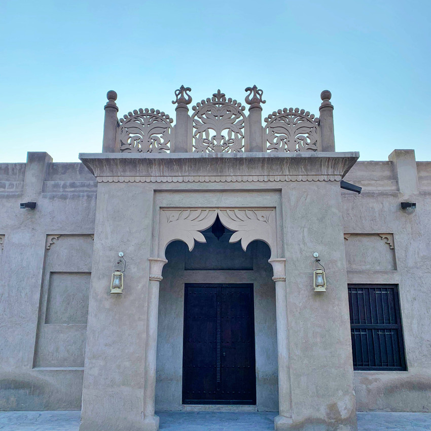 Al Fahidi Historical Neighbourhood, Dubai, United Arab Emirates