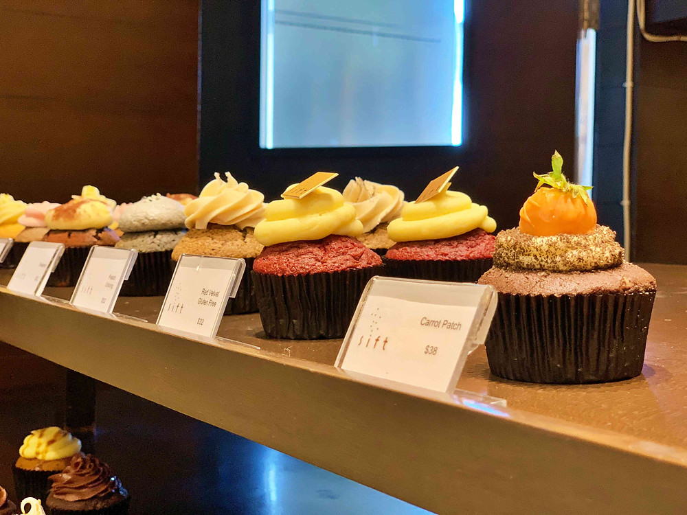 Cupcakes at Sift, South Horizons, Hong Kong