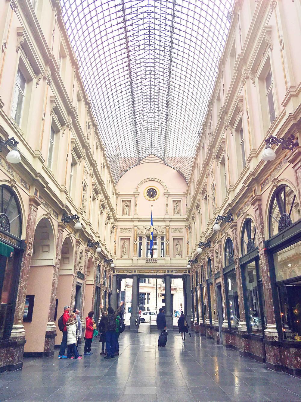 Royal Gallery of Saint Hubert, Brussels, Belgium