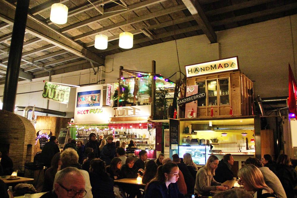 REFFEN food market, Copenhagen, Denmark