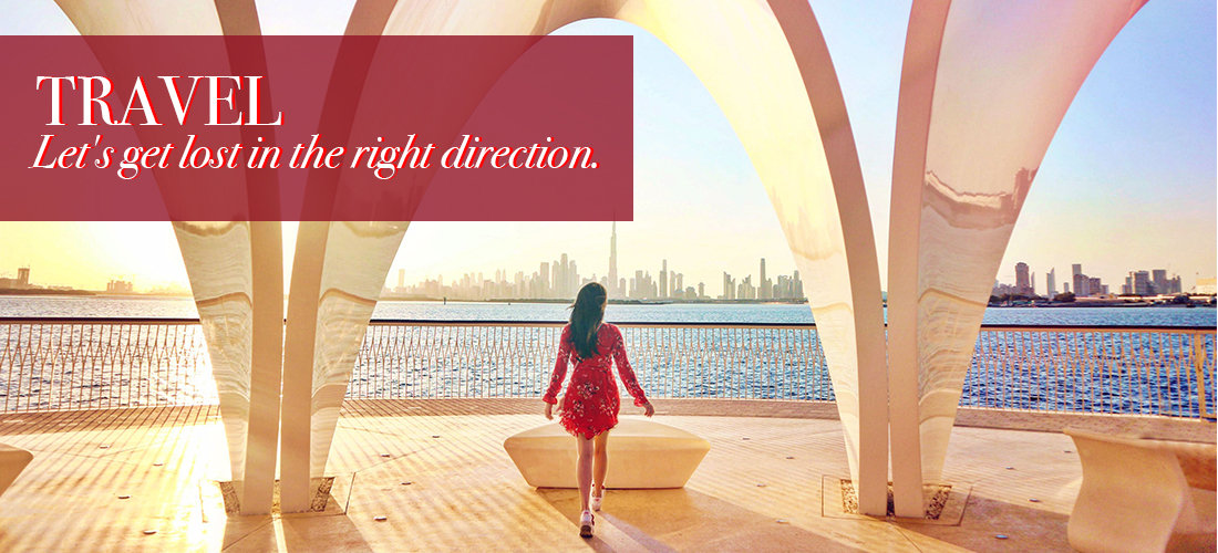 Travel: let's get lost in the right direction.