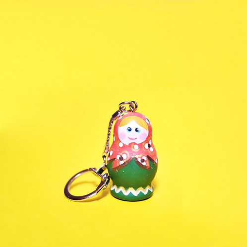 Mini Matryoshka Doll Keyring