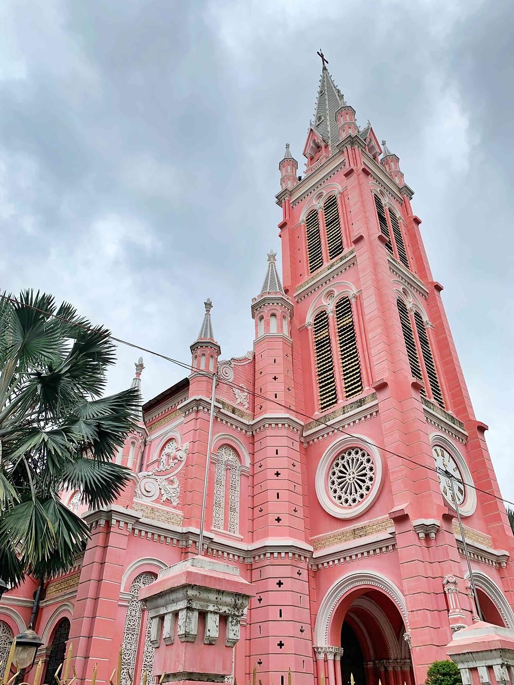 Tan Dinh Church, Ho Chi Minh City, Vietnam