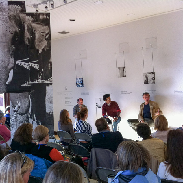 Panel Discussion during Exhibit in Telluride, USA