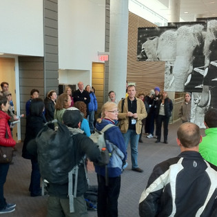 Reception at the Banff Centre for the Arts and Creativity
