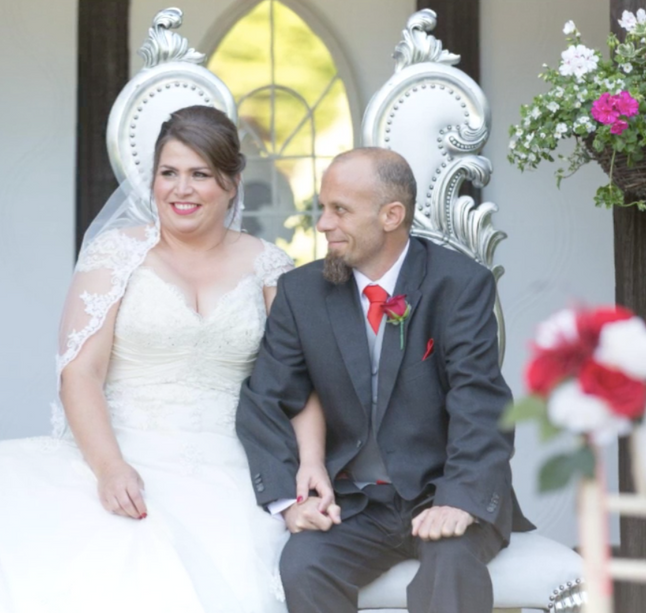 An interview with the beautiful bride, Rita